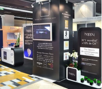 Blog easy stand page 2 de 6 stands signal tiques for Amenagement stand exposition