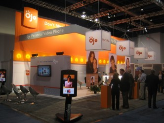 colors trade show booth