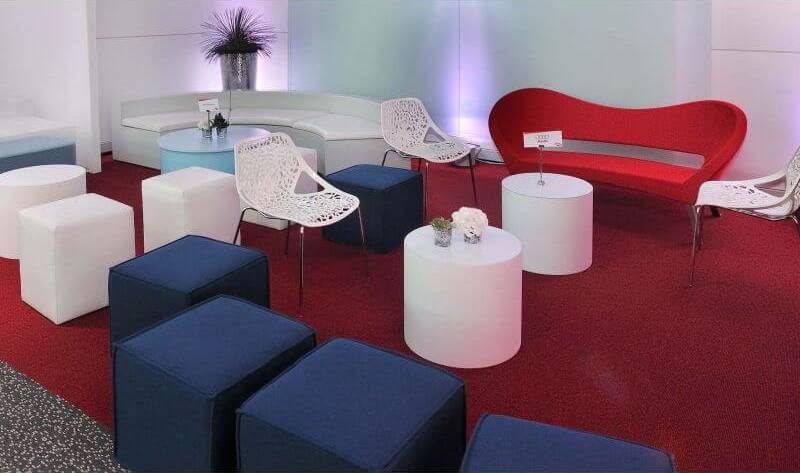 Materiaux mobilier stand exposition