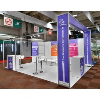stand pack stand personnalisable et abordable